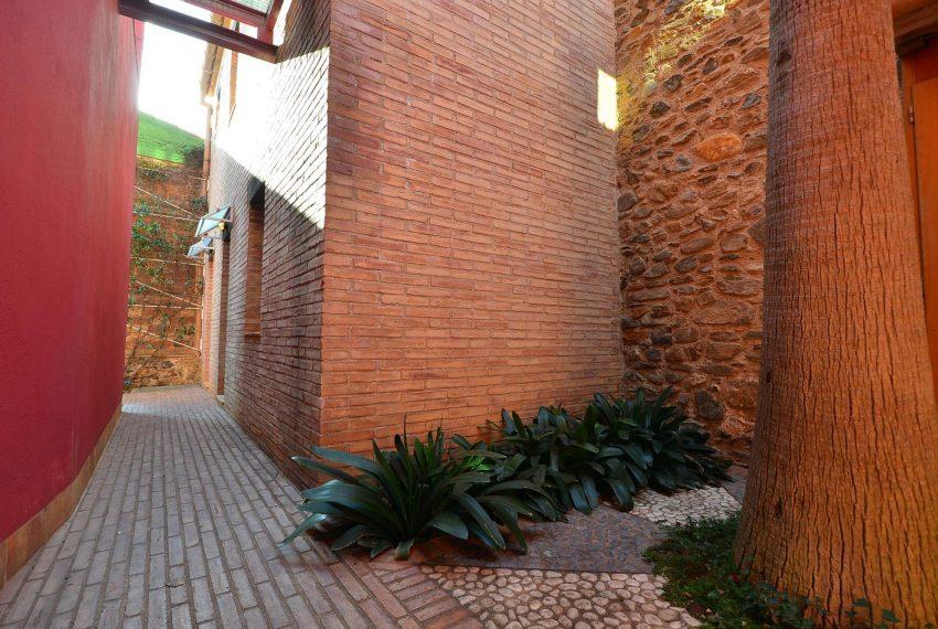 Hotel Venta Emporda Pasillo Exterior