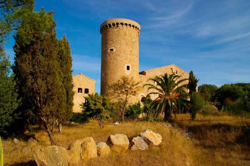 Torre Medieval Baix Emporda Vista Sur
